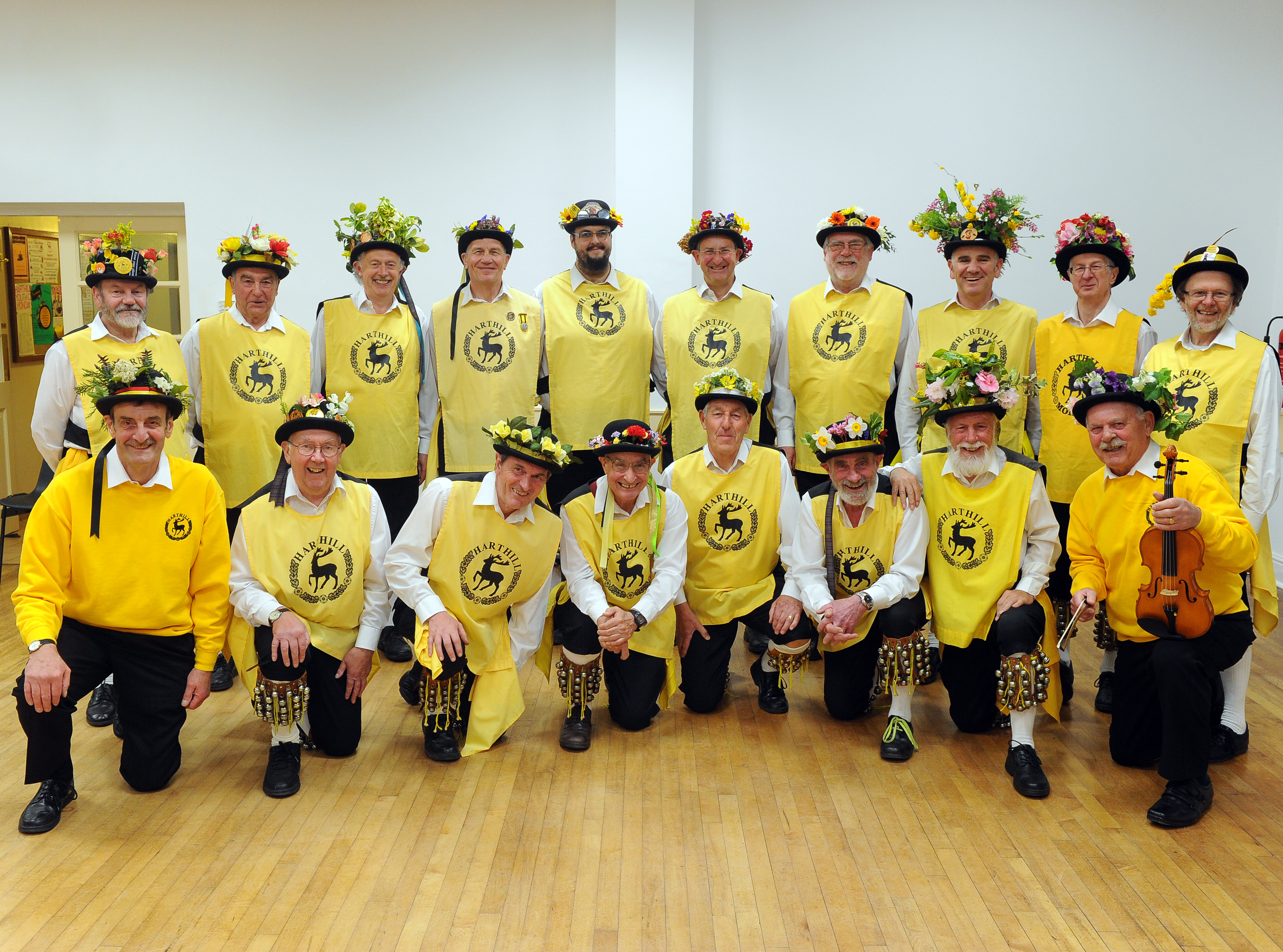 150631-01 Harthill Morris team get ready for new season