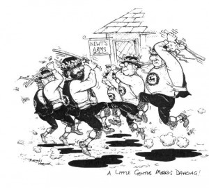 "Cartoon - ""A little gentle morris dancing..."""